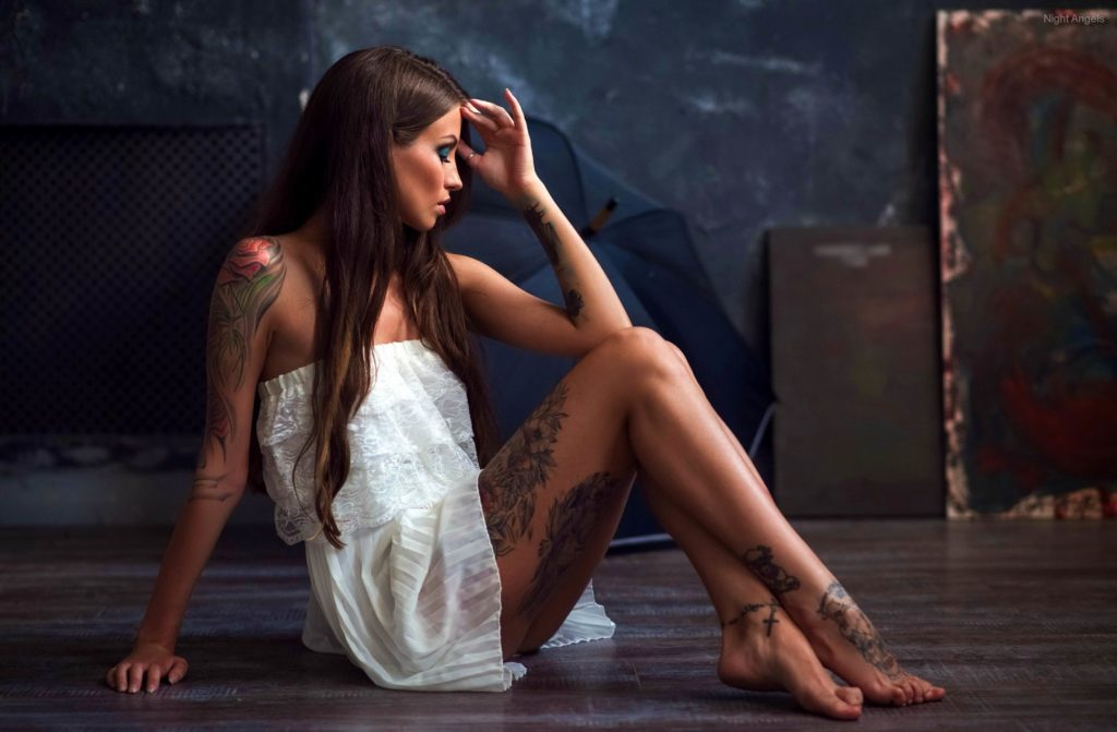 Hot and cute tattooed women from London escorts